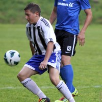 Lukas Kramp. 20120712 SG Schoden - Eintracht Trier, Foto: Anna Lena Grasmueck - 5VIER