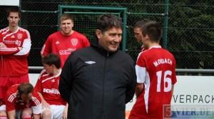 Dieter Müller vom SV Morbach freut sich auf ein interessantes Spiel. Am 18. September trifft der Rheinlandligist auf Eintracht Trier. Foto: Andreas Gniffke - 5VIER