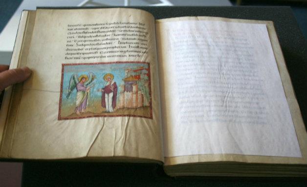 Kleine Meisterwerke: Miniatur im Codex Egberti