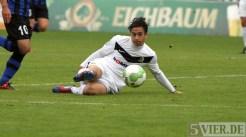 20120915 Mannheim - Eintracht Trier, Regionalliga Südwest, Pagenburg, Foto: Anna Lena Grasmueck - 5VIER