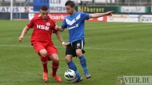 20121124 Eintracht Trier - Pfullendorf, Regionalliga Suedwest, Abelski, Foto: www.5vier.de - 5VIER