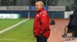 Krettnachs Trainer Erwin Berg ist erleichtert. (Archivfoto: 5vier.de)