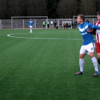Marco Quotschalla (l.) erzielte seinen ersten Treffer für den SVE (Foto: Stephen Weber) - 5VIER