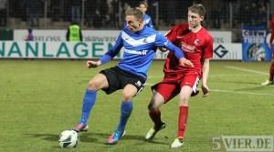20130306 Eintracht Trier - Freiburg II, Regionalliga Suedwest, Quotschalla, Foto: www.5vier.de - 5VIER