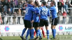 20130310 Worms - Eintracht Trier, Regionalliga Suedwest, Jubel Quotschalla, Foto: www.5vier.de - 5VIER