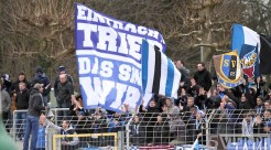 20130310 Worms - Eintracht Trier, Regionalliga Suedwest, Fans, Foto: www.5vier.de - 5VIER
