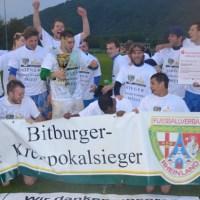 Die DJK St. Matthias will als Kreispokalsieger nun auch den Rheinlandpokal aufmischen. - 5VIER