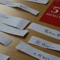 5vier-Auslosung im DFB-Pokal - 5VIER