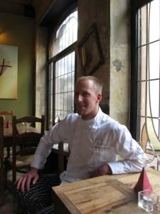 Küchenchef Peter Hammerschmid