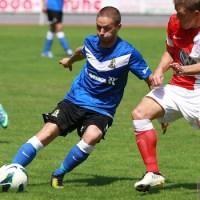 20130727 Eintracht Trier - Hessen Kassel, Sylvano Comvalius, Regionalliga Suedwest, Foto: www.5vier.de - 5VIER
