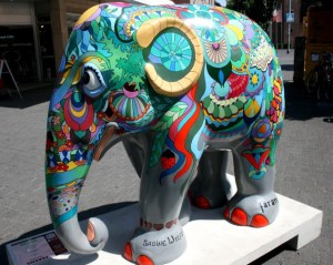 Elephant Parade 2013: Sie sind unter uns…