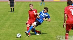 Stadionfest Eintracht Trier - Spielszene Matthias Cuntz