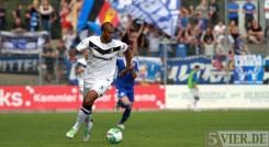 20130811 Zweibruecken - Eintracht Trier, Regionalliga Suedwest, Comvalius, Fans, Foto: www.5vier.de - 5VIER