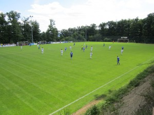 In Lüxem können die Fans endlich wieder Rheinlandliga-Fußball erleben Foto: Benedikt Rupp
