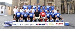Mannschaftsfoto Eintracht Trier 2013-14