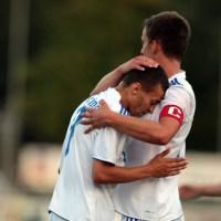 SV Mehring-FK Pirmasens, Michael Fleck, Christoph Eifel. Foto: Sebastian Schwarz - 5VIER