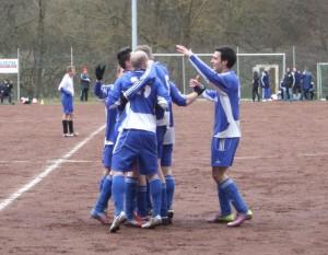 Der SV Leiwen konnte nach drei sieglosen Spielen endlich wieder jubeln (Foto: Torsten Franken)