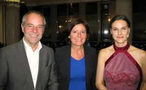 OB Jensen, Malu Dreyer und Moderatorin KAy-Sölve Richter