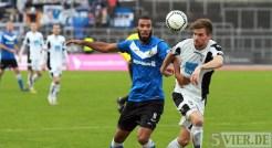 20131012 SSV Ulm - Eintracht Trier, Regionalliga Suedwest, Comvalius, , Foto:www.5vier.de - 5VIER
