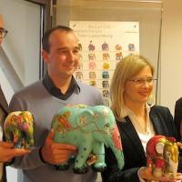 Abschluss Elephant Parade - 5VIER