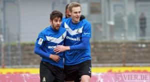Eintracht Trier gegen Neckarelz - featured Anton und Bender
