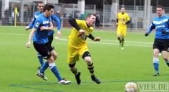 20140215 Testspiel Neunkirchen - Eintracht Trier, Spang, Abwehr, Foto: 5vier.de - 5VIER
