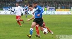 20140222 Eintracht Trier - SVN Zweibruecken, Regionalliga Suedwest, Anton, Foto: 5vier.de - 5VIER
