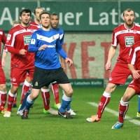 20140228 Kaiserslautern II - Eintracht Trier, Regionalliga Suedwest, Torge Hollmann, Foto: 5vier.de - 5VIER