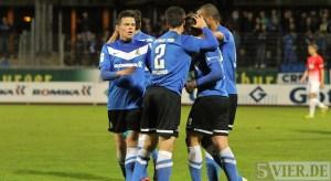 20140321 Eintracht Trier - Wormatia Worms, Regionalliga Suedwest, Foto: 5vier.de - 5VIER