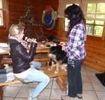 Übung zum Nein-sagen mit Hund Happy - 5VIER