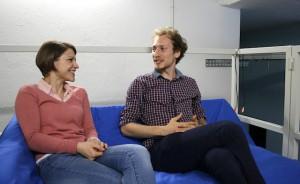Elisa Limbacher und Michael Gubenko