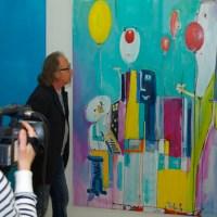 Links im Bild Moderator Axel Schweiss und rechts Roland Grundheber, Foto: OK 54 - 5VIER