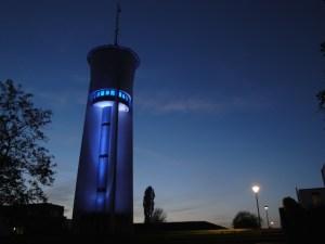 Der Wasserturm auf dem Trierer Petrisberg. Foto: Tourist-Information Trier - 5VIER