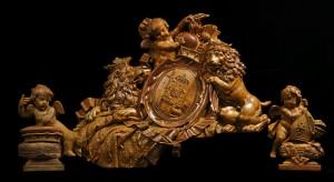 Das kurfürstliche Wappen. Foto: Thomas Zühmer
