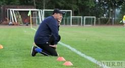 Testspiel Eintracht Trier gegen SG Ruwertal, Peter Rubeck, Foto: 5vier.de - 5VIER