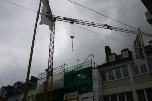 Baustelle, Kran, Füllbild Foto David Benke - 5VIER