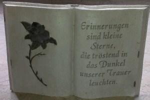 Gedenken an Dieter Lintz, Foto: Melanie Koch - 5VIER
