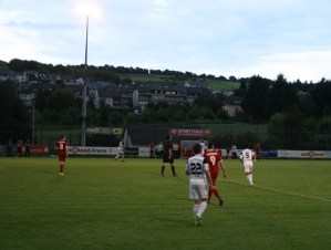 Rheinland Liga, 27.8.14 FSV Tarforst - SG Mendig, Foto: David Benke - 5VIER