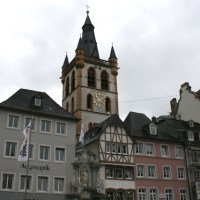 Trier, Hauptmarkt, Gangolf, Stadt Füllbild Foto David Benke - 5VIER