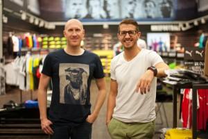 Sven Lamberty und Stefan Fleck