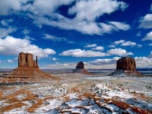 Monument Valley USA. Foto von Helfried Weyer - 5VIER