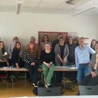 Gott mit uns_Uni-Seminar mit Prof. Dr. C. Jansen sowie Intendant G. Weber, Chefdramaturg P.Oppermann und Musikdramaturg Dr. P.Larsen, Foto: Theater Trier - 5VIER