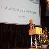 Gesine Schwan eröffnet Soziologie-Kongress, Foto: Universität Trier - 5VIER