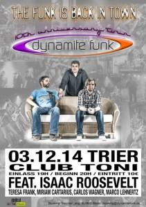 Dynamite Funk live in Trier, Club Toni - 5VIER