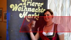 Die Glühweinkönigin von Trier
