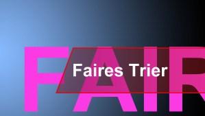 Trier ist Fairtrade