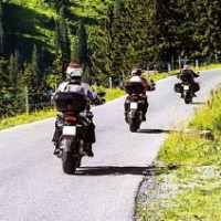 Verantwortung statt Vollgas. Das Motorrad-Gruppentraining, Foto: POLIZEIPRÄSIDIUM TRIER - 5VIER