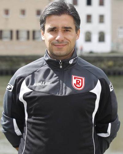 Trainer Eintracht Trier Oscar Corrochano, Foto: weltfussball.de