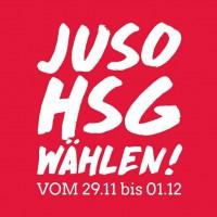 Logo der Jungsozialistischen Hochschulgruppe Uni Trier