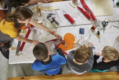 Kinderwerkstatt bei Honrbach